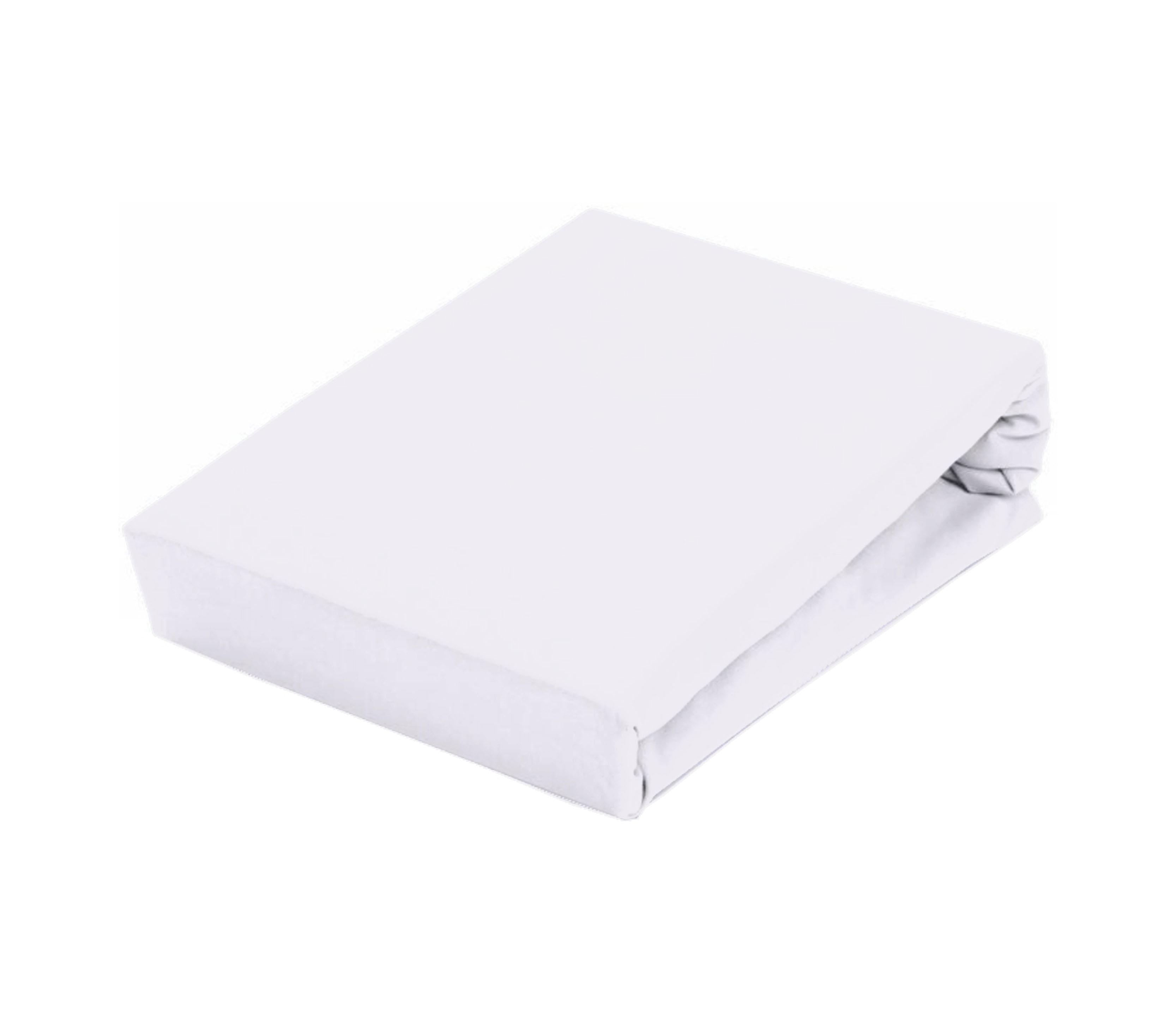 Aga Prostěradlo JERSEY 140x200 cm  Barva prostěradla: Bílá