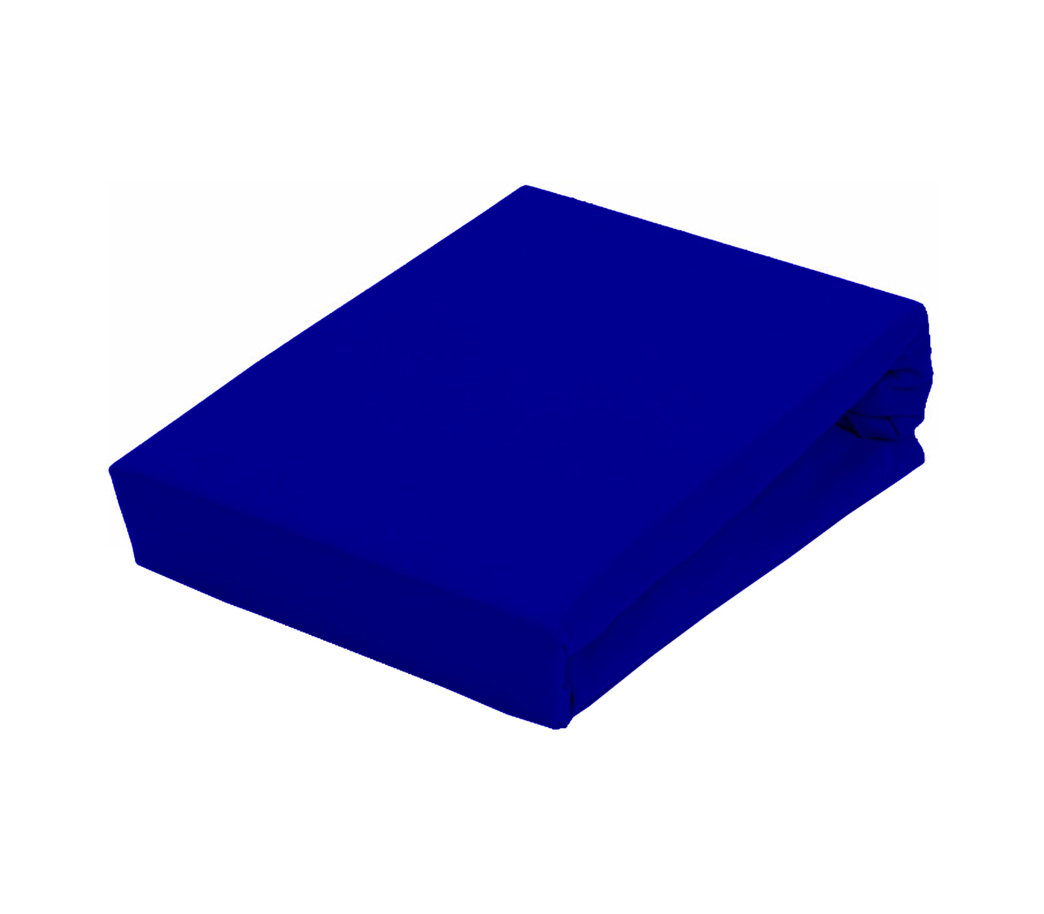Aga Prostěradlo JERSEY 90x200 cm  Barva prostěradla: Tmavě modrá