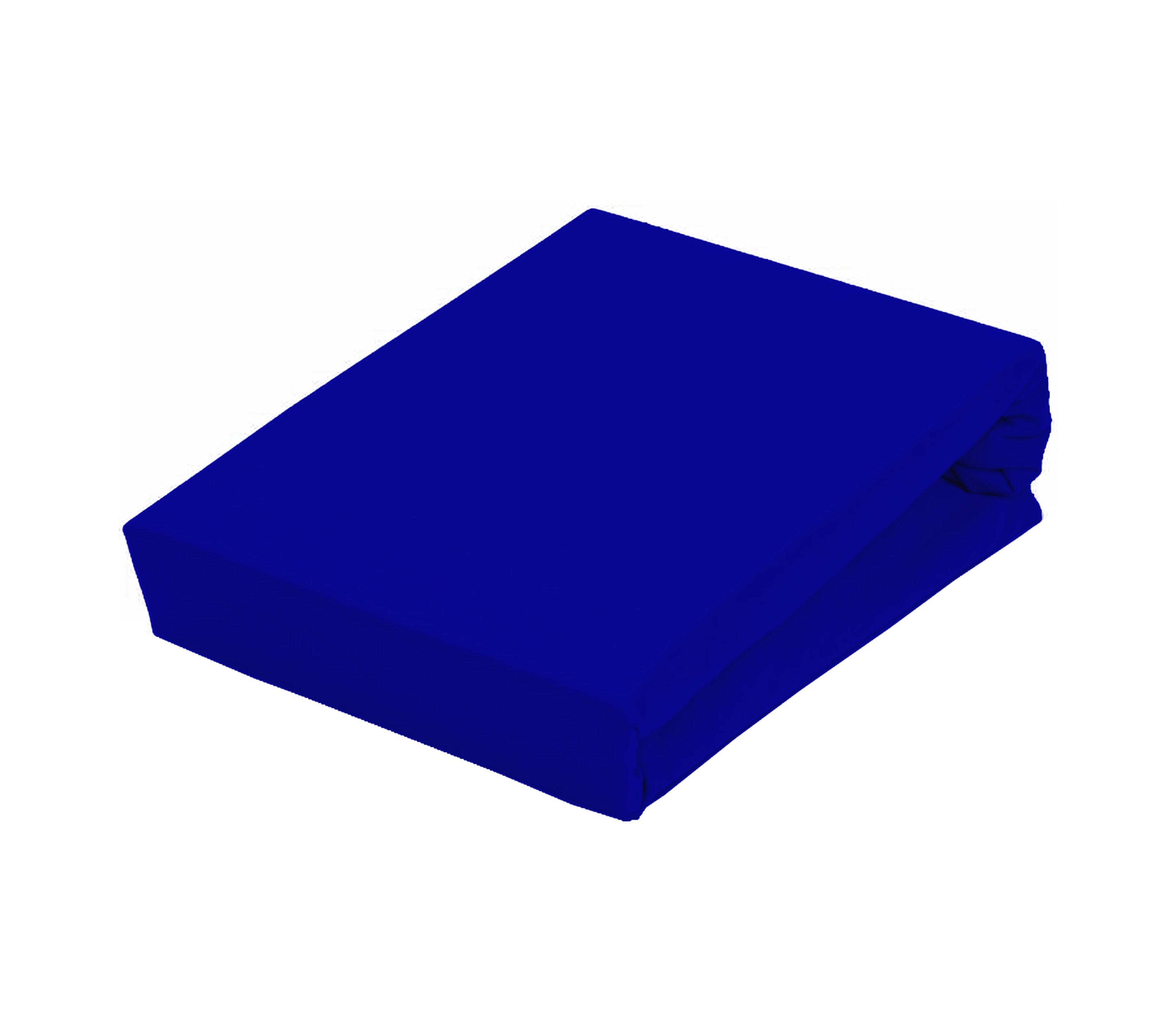 Aga Prostěradlo JERSEY 90x200 cm  Barva prostěradla: Modrá