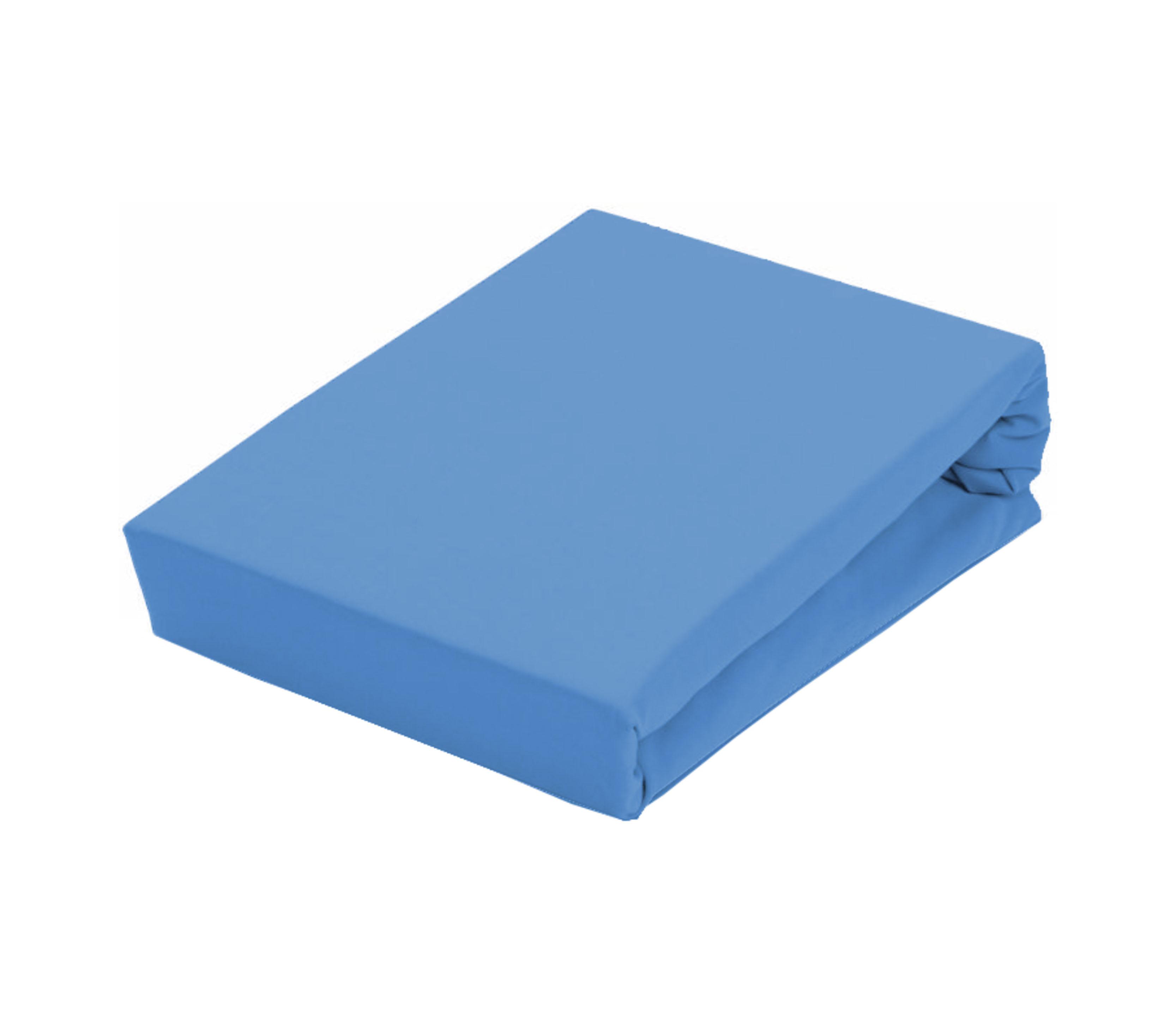 Aga Prostěradlo JERSEY 160x200 cm  Barva prostěradla: Světle modrá