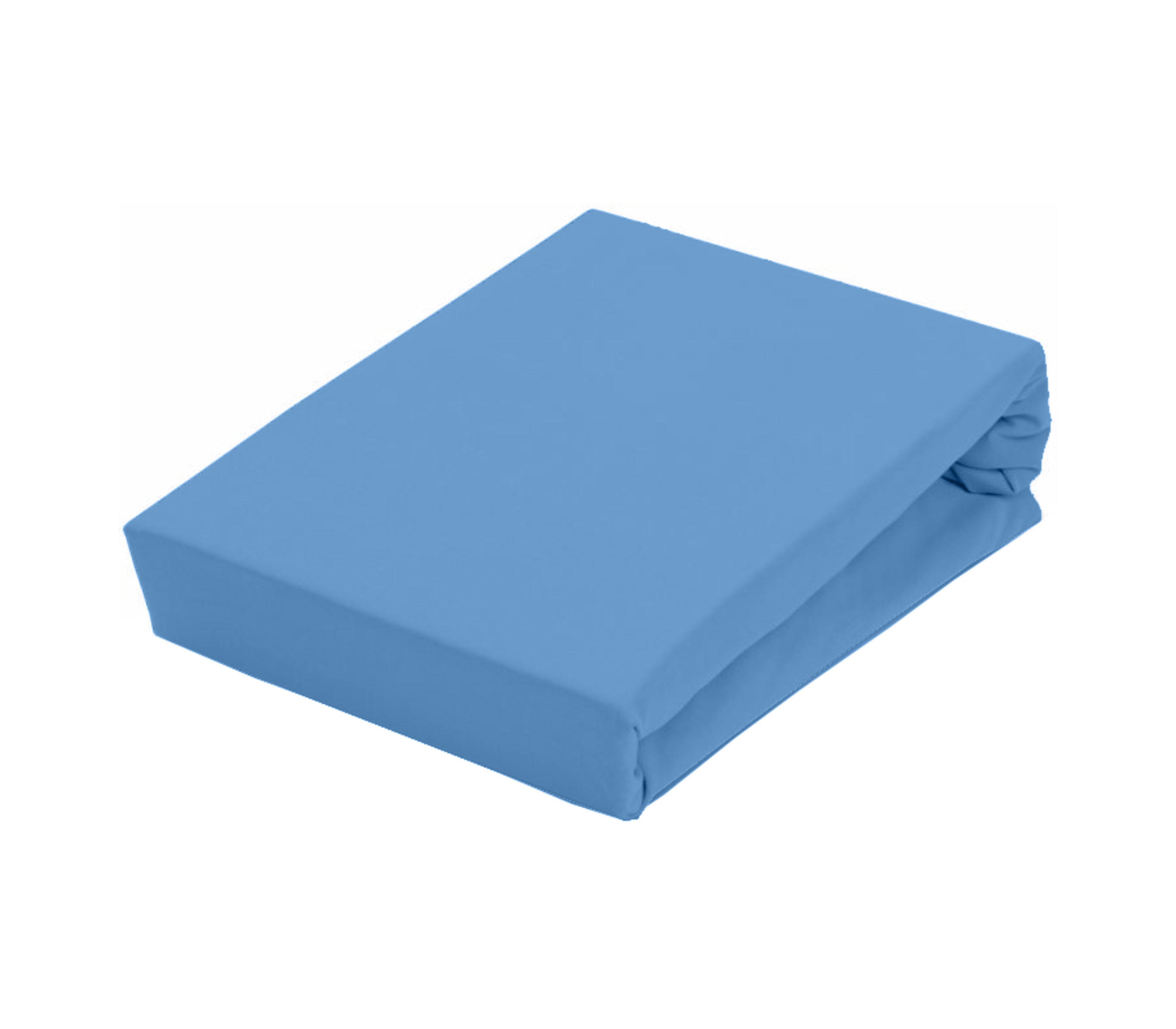 Aga Prostěradlo JERSEY 180x200 cm  Barva prostěradla: Pastelově modrá