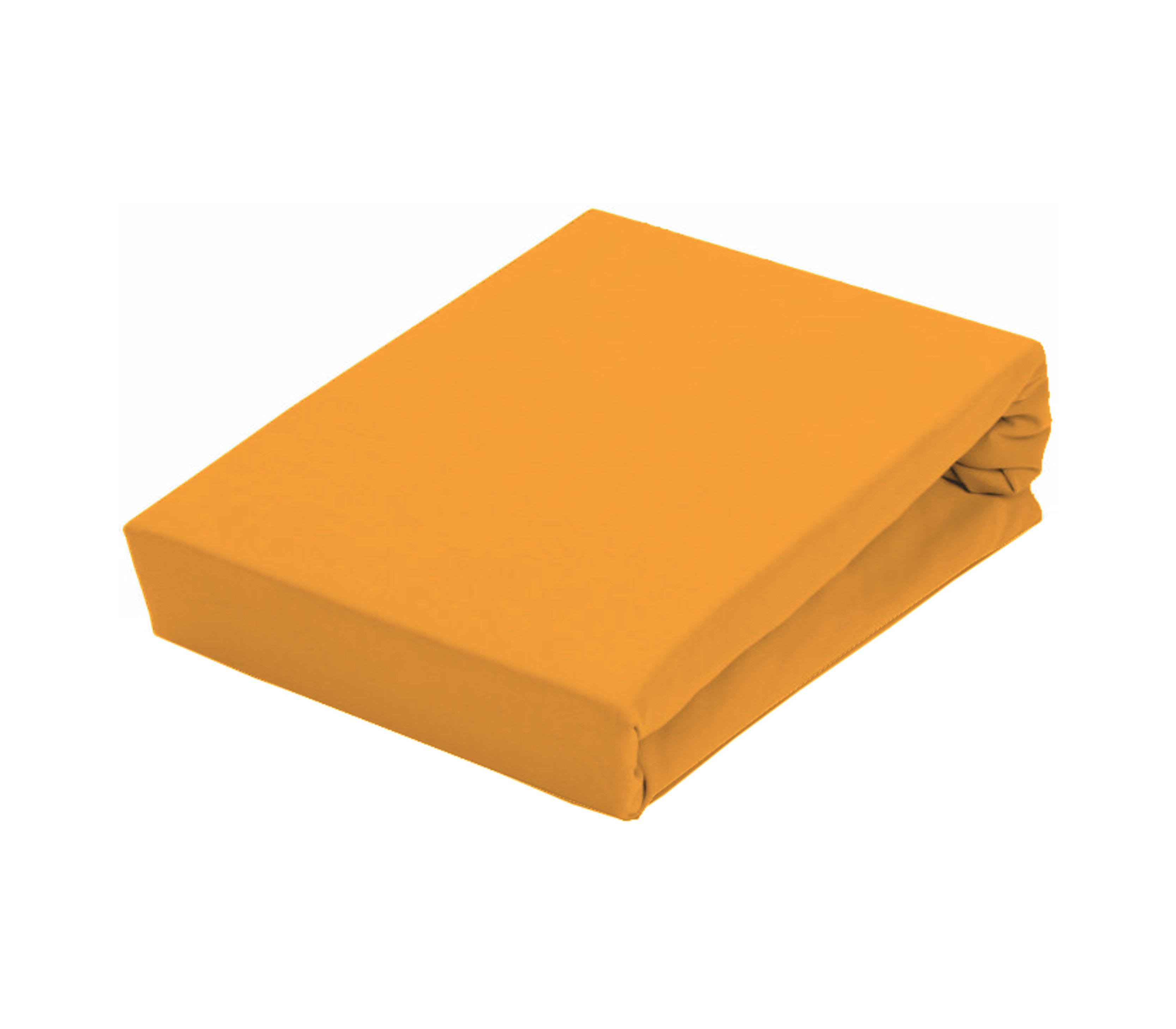 Aga Prostěradlo JERSEY 180x200 cm  Barva prostěradla: Žlutá