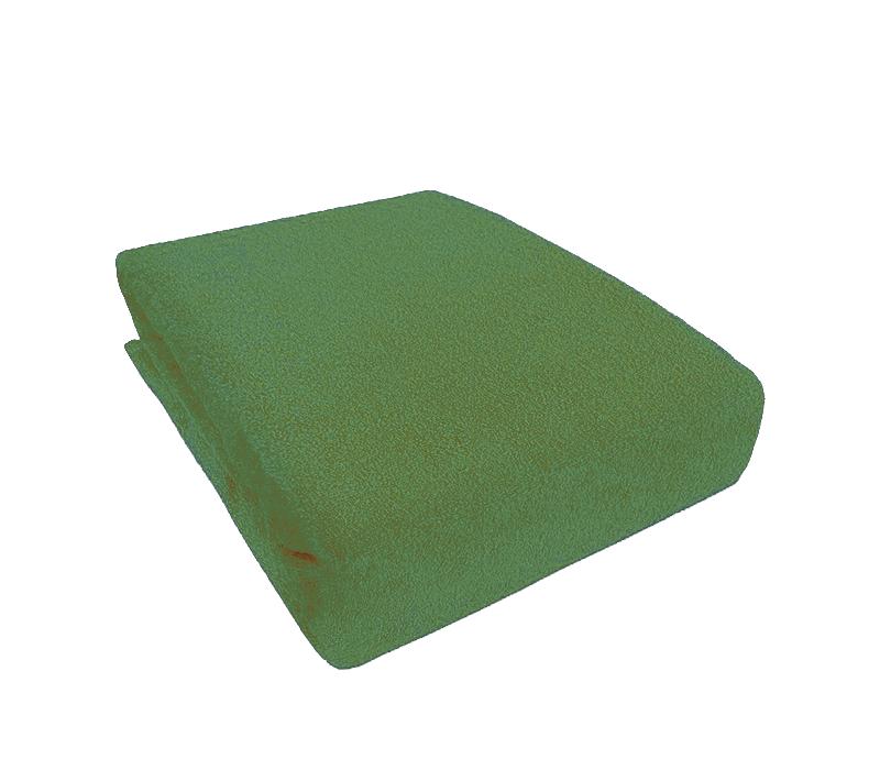 Aga Prostěradlo FROTÉ 90x200 cm Barva prostěradla: Zelená