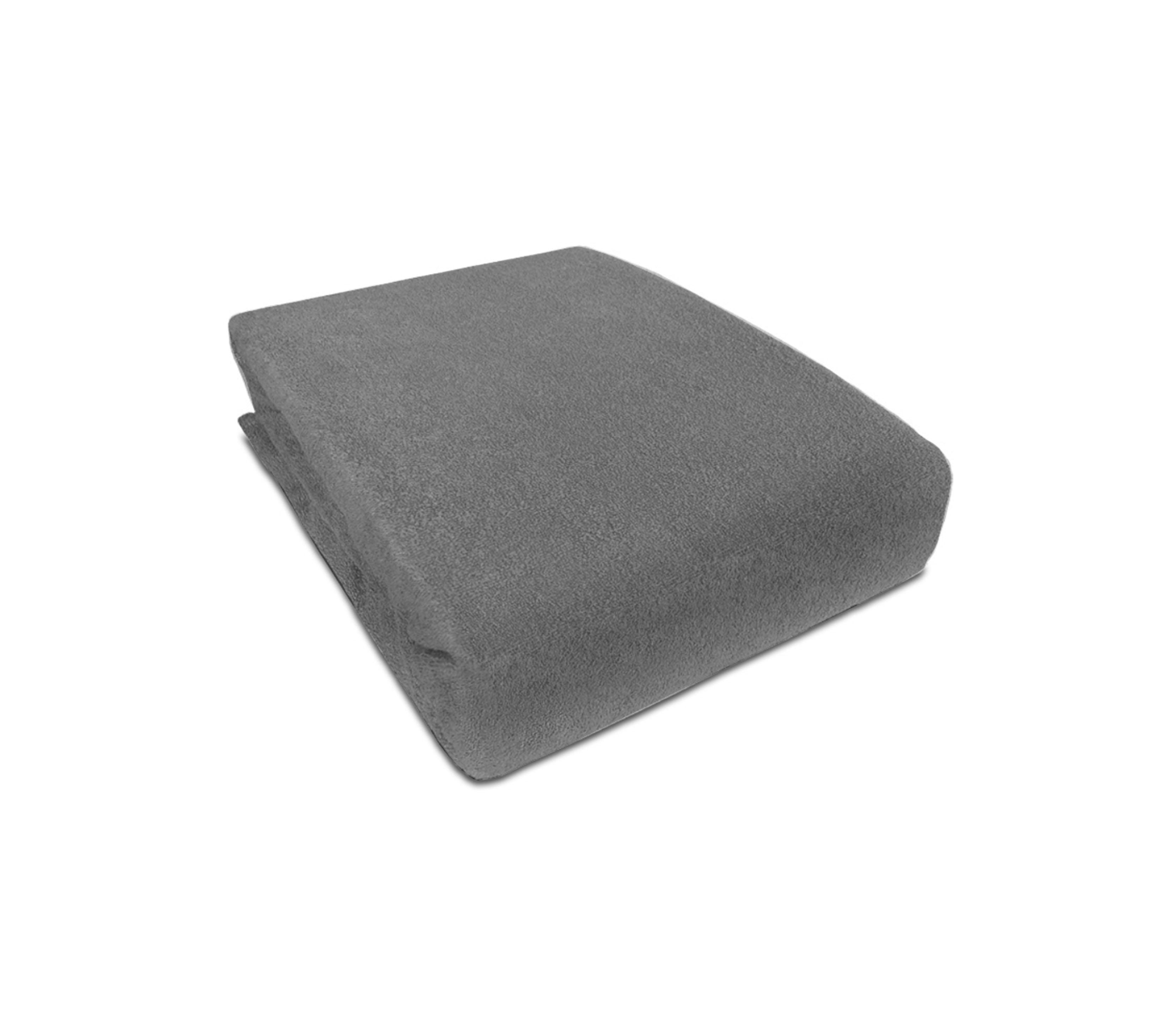 Aga prostěradlo FROTÉ 160X200 cm Barva prostěradla: Tmavě šedá