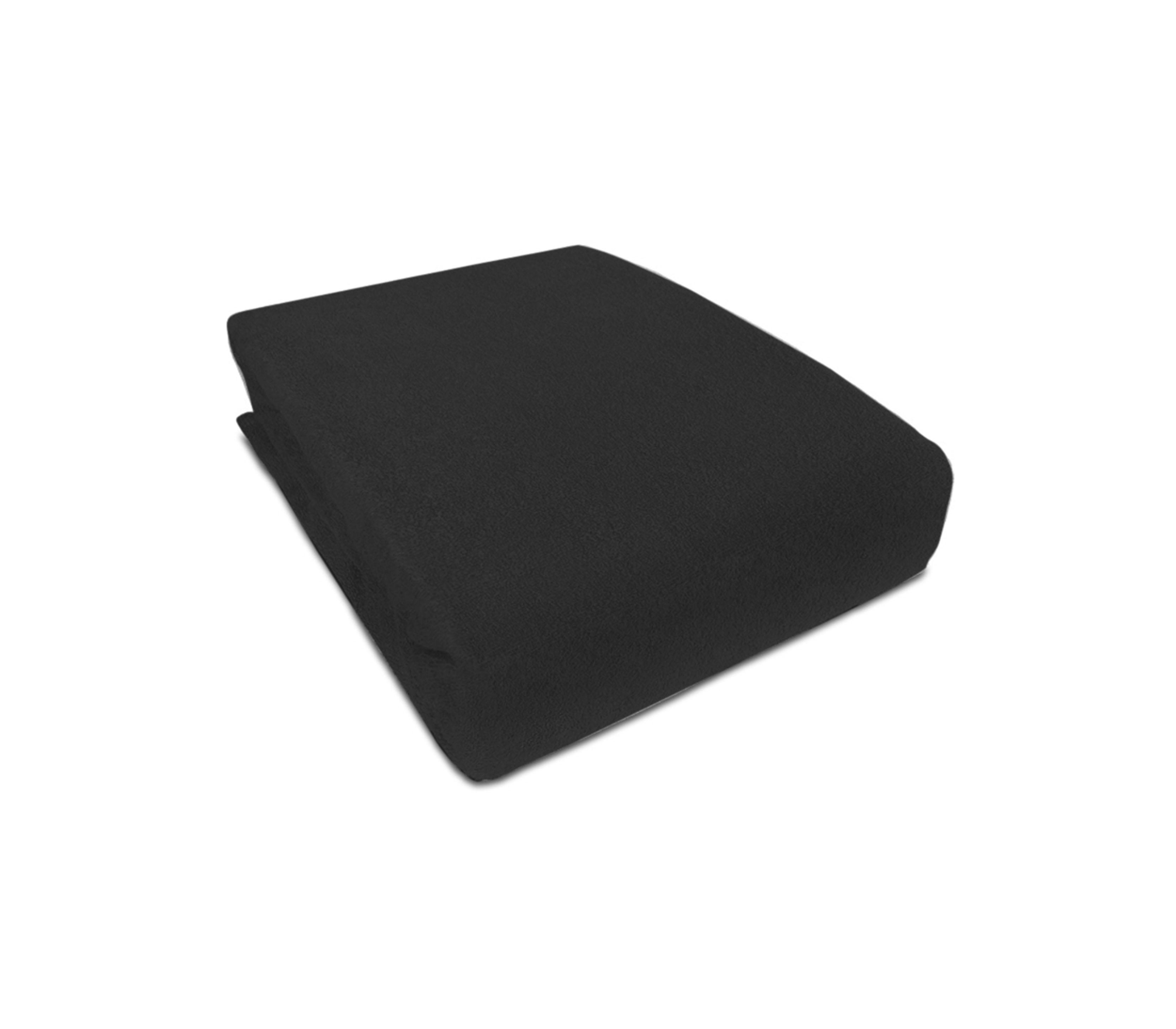 Aga prostěradlo FROTÉ 160X200 cm Barva prostěradla: Černá