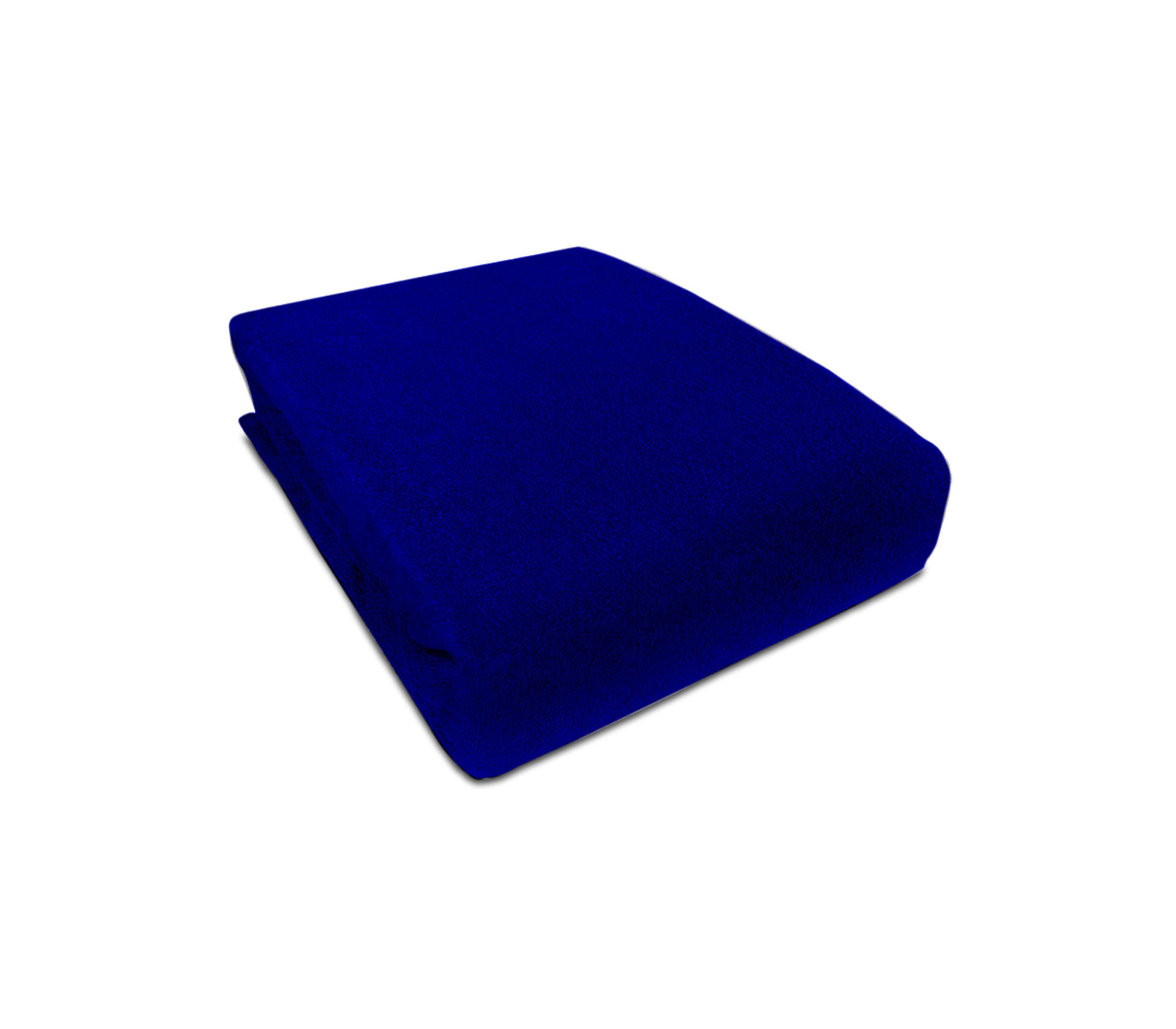 Aga prostěradlo FROTÉ 160X200 cm Barva prostěradla: Tmavě modrá