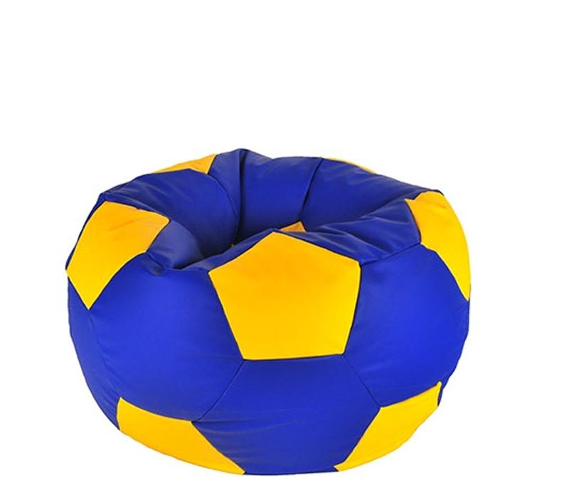 Aga Sedací pytel BALL XXXL Oranžová - Modrá