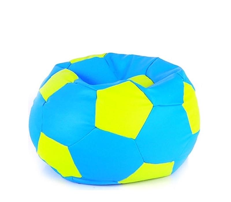 Aga Sedací pytel BALL XXXL Světle zelená - Světle modrá