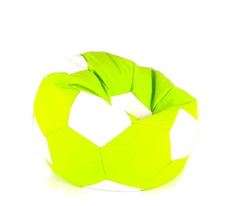Aga BALL XXXL Bílá - Světle zelená