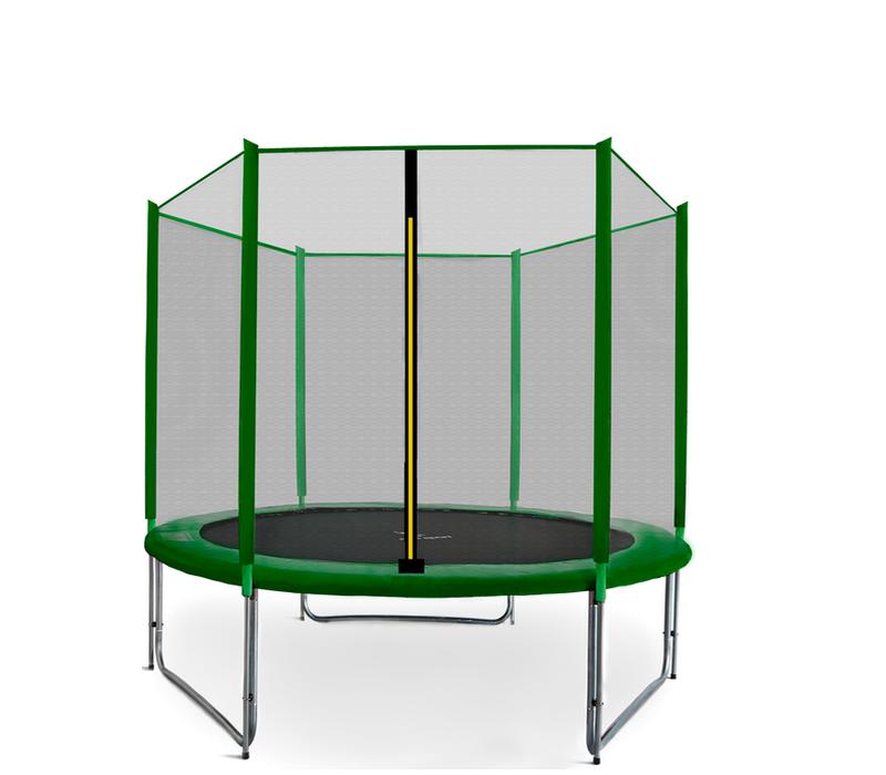 Aga SPORT PRO Trampolína 180 cm Dark Green + ochranná síť