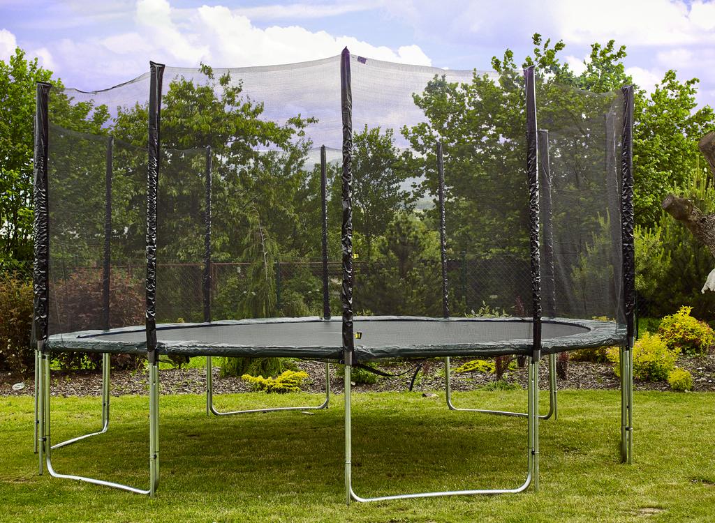 aga sport pro trampol na 500 cm 16 ft green 6601558343 aukro nejv t obchodn port l. Black Bedroom Furniture Sets. Home Design Ideas