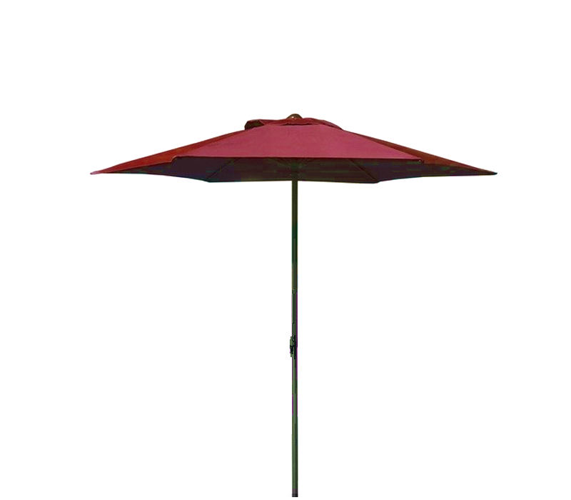 Aga Slunečník CLASSIC 200 cm Dark Red