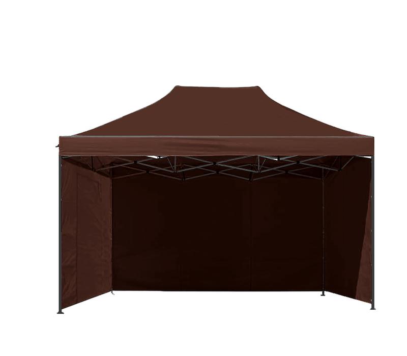 Aga Prodejní stánek 3S POP UP 3x4,5 m Brown
