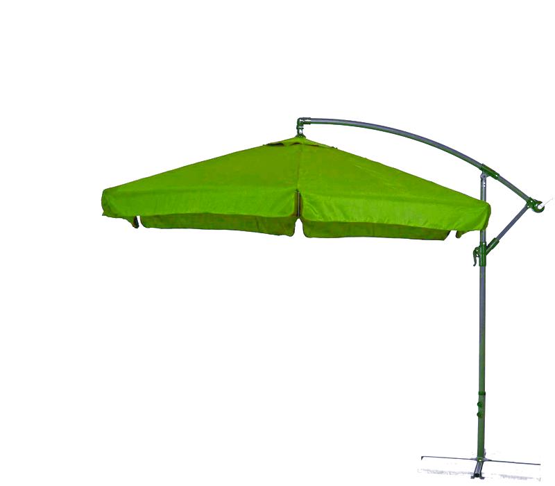Aga Zahradní slunečník konzolový EXCLUSIV GARDEN 300 cm Apple Green
