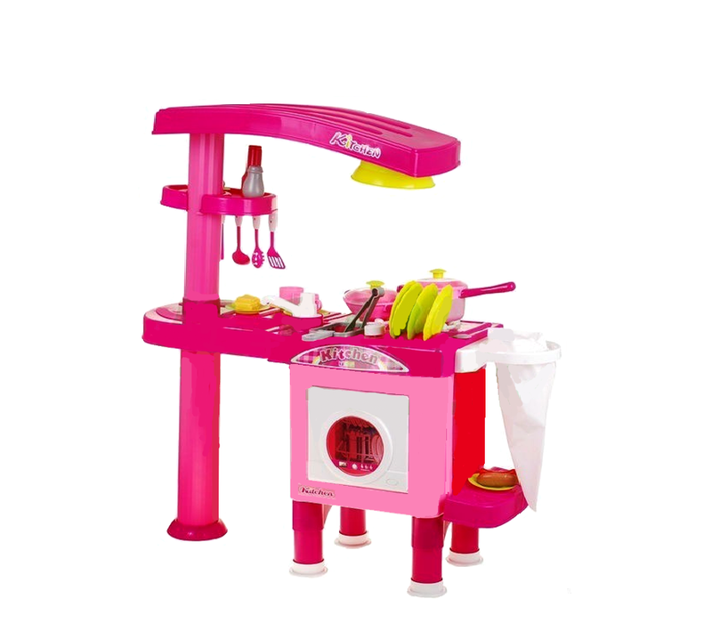 Aga4Kids Plastová kuchyňka KITCHEN 008-82 Pink