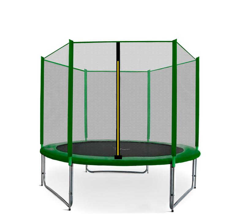 Aga SPORT PRO Trampolína 275 cm Dark Green + ochranná síť