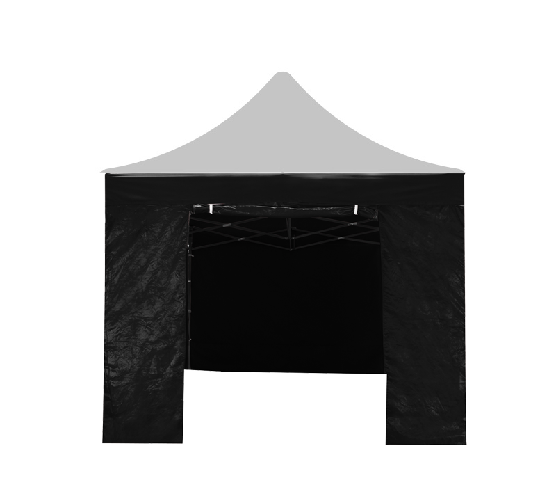 Aga Bočnice s dveřmi 3x3 m Black