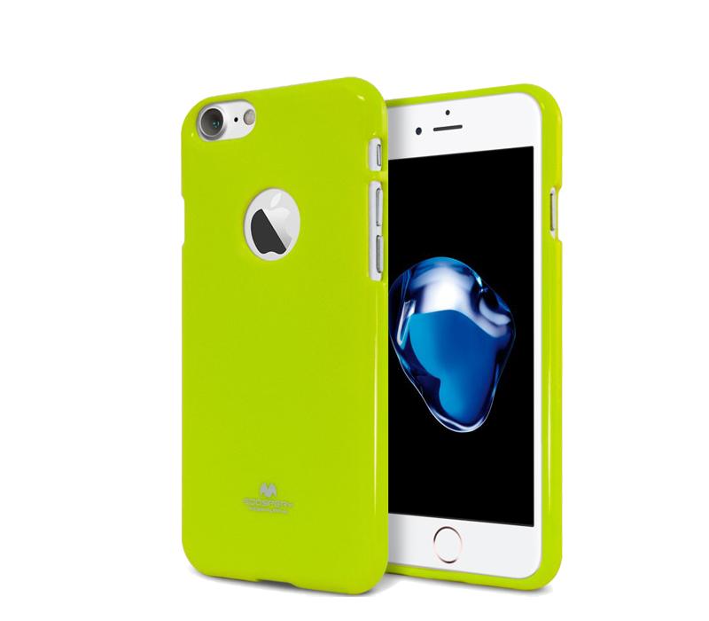 Aga Zadní kryt pro iPhone 7 GOOSPERY RING Barva krytu: Light Green
