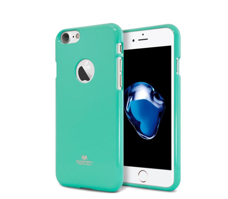 Aga Zadní kryt pro iPhone 7 GOOSPERY RING Barva krytu: Turquoise
