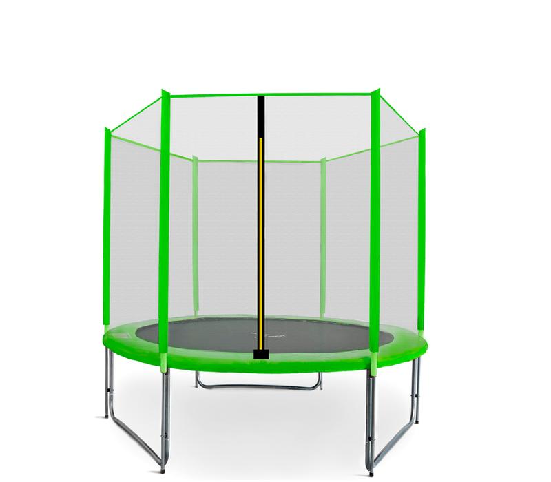 Aga SPORT PRO Trampolína 150 cm Light Green + ochranná síť