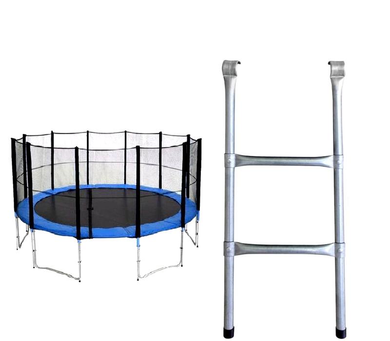 Aga Žebřík k trampolíně 366 - 518 cm