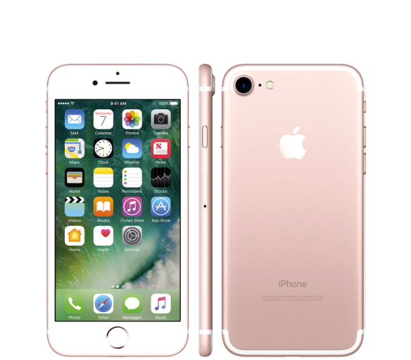 Apple iPhone 7 256GB Rose Gold Kategorie: B