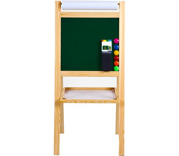 Aga4Kids Detská tabuľa 4v1 MRDB05 NATUR 95 cm
