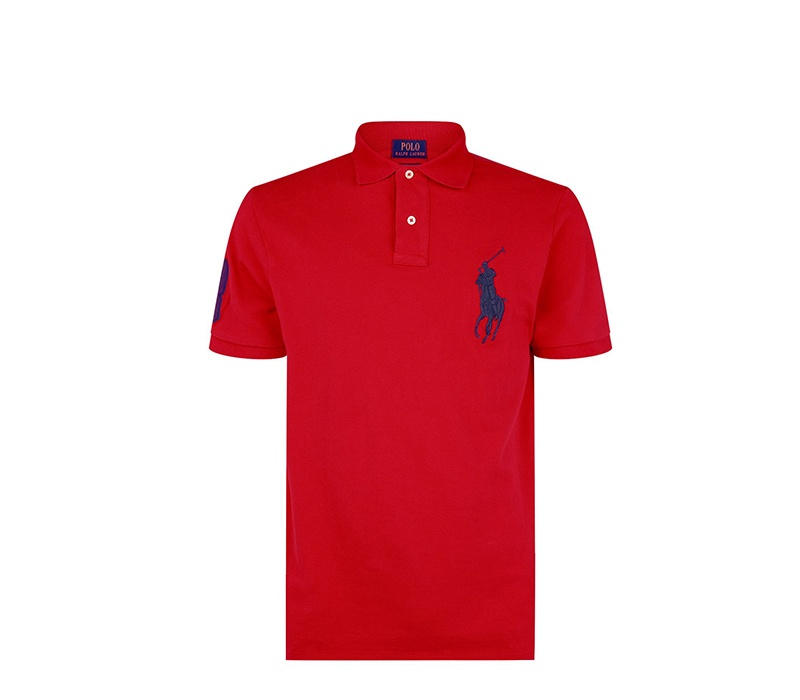 Ralph Lauren Dětské Polo tričko Red Big Pony