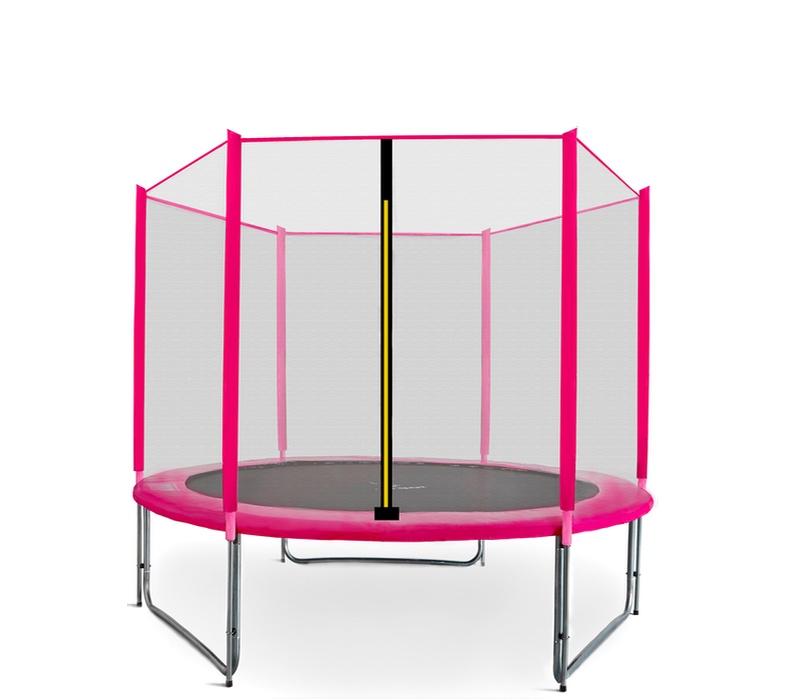 Aga SPORT PRO Trampolína 250 cm Pink + ochranná sieť