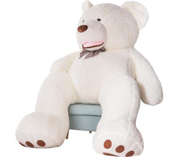 Aga4Kids Plyšový medvěd 250 cm Amigo White
