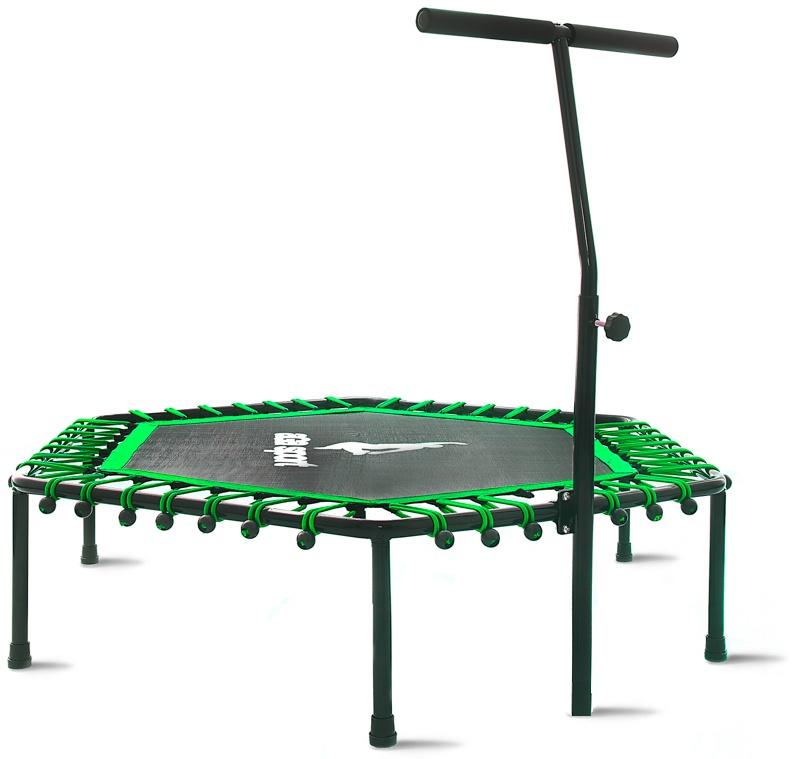 Aga FITNESS Trampolína 130 cm Green + madlo