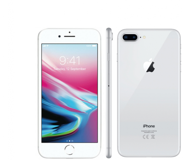 Apple iPhone 8 Plus 64GB Silver Kategorie: A