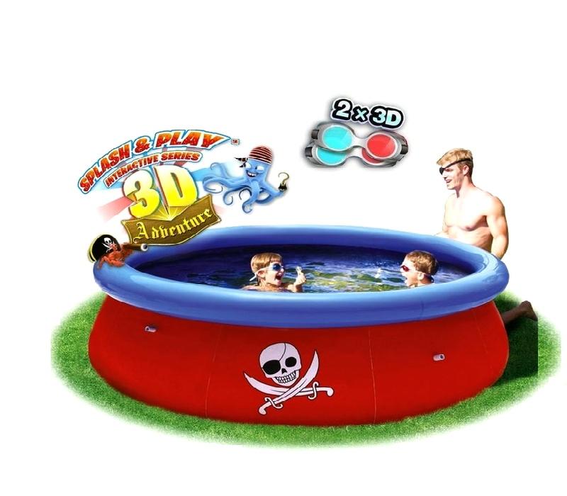 Bestway Pirate 3D 2,74 x 0,76 m 57243