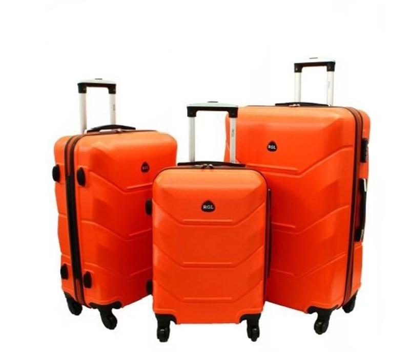 RGL Cestovní kufry HC720 XXL,XL,L Barva: Orange