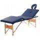 Aga Dřevěné masážní lehátko WT401 Dark Blue