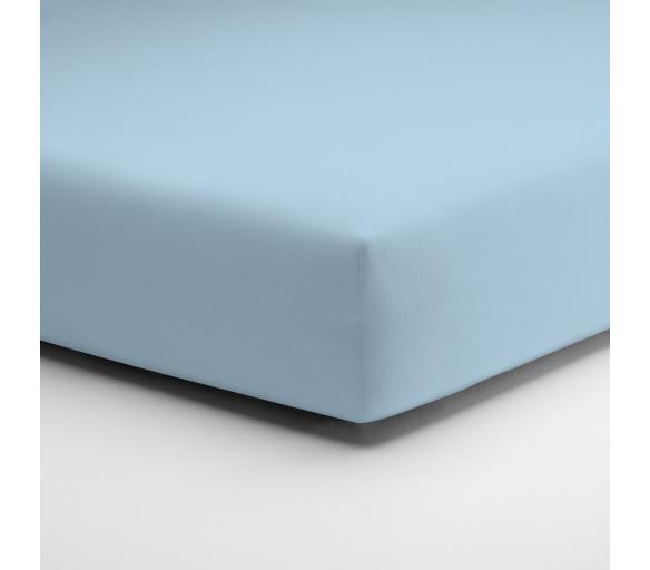 Aga Prostěradlo JERSEY 120x200 cm Světle modrá