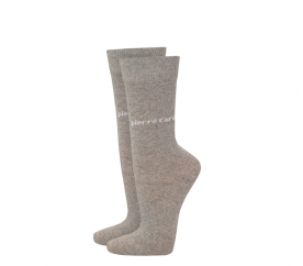 Pierre Cardin 2 PACK Light Grey zokni