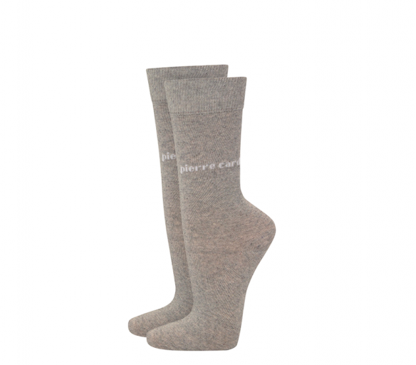 Pierre Cardin Ponožky 2 PACK Light Grey