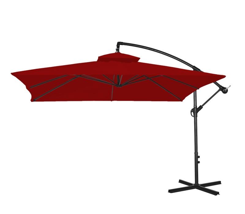 Aga Zahradní slunečník EXCLUSIV CUBE 250 cm Dark Red