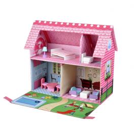 aGa4Kids Domek dla lalek GLORIA