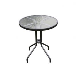 Linder Exclusiv Szklany stół ogrodowy BISTRO MC330850DG 71x60 cm