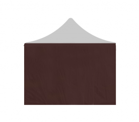 Aga oldalfal POP UP 2x2 m Brown