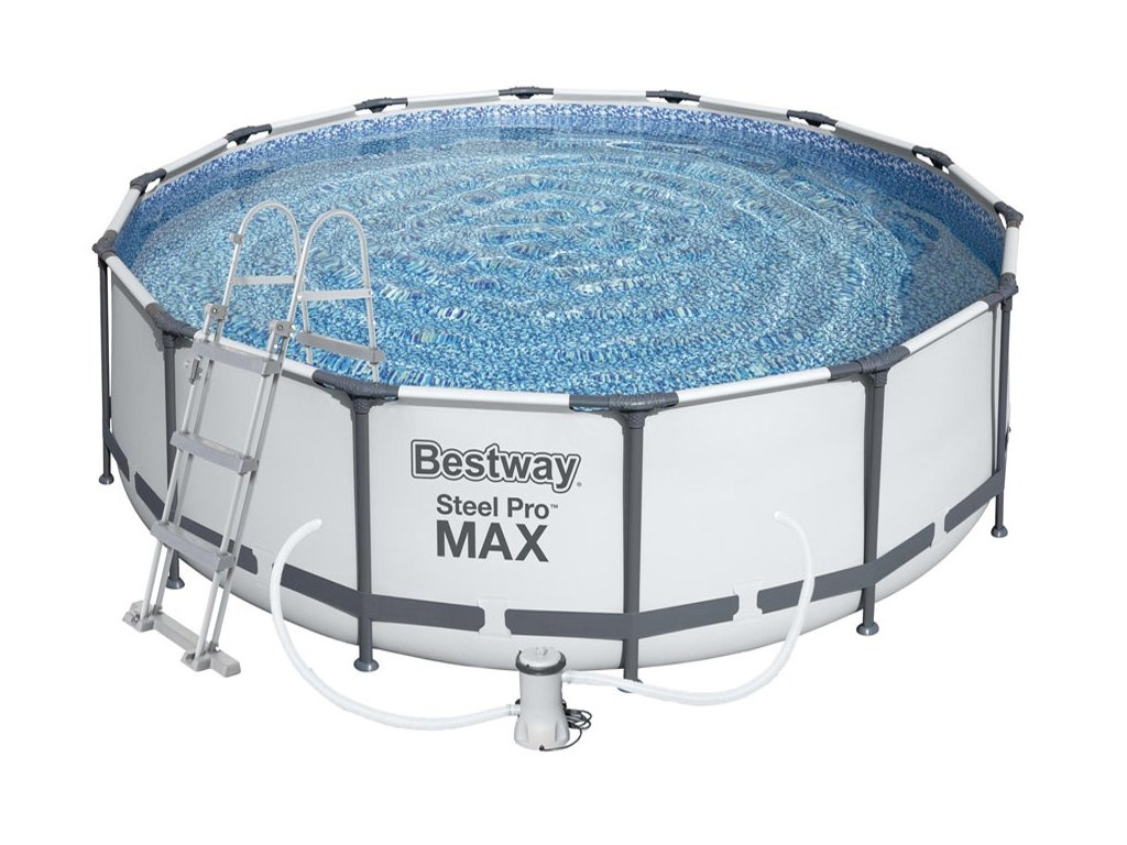 Bestway Steel Pro Frame 3,66 x 1 m 56418 + Kartušová filtrace