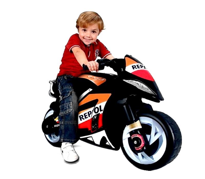 Injusa Elektrická motorka MOTO WIND REPSOL 6V