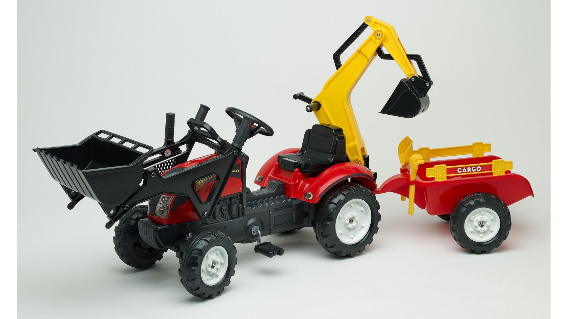Falk Šlapací traktor RANCH TRAC 2051CN + vlečka