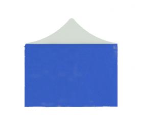 Aga oldalfal  POP UP 3x3 m Blue