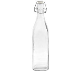 Butelka szklana z klipsem 0,5l BIOWIN - BIOWIN