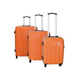 Linder Exclusiv Walizka PREMIUM COLOR ALUMINUM MC3059 M Orange
