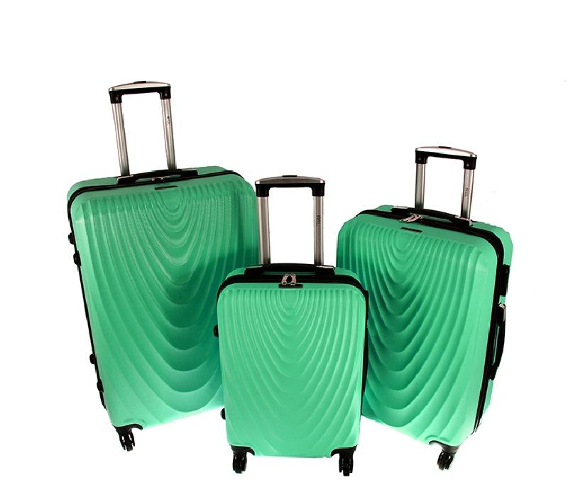 RGL Cestovní kufry HC663 XXL,XL,L Barva: Mint