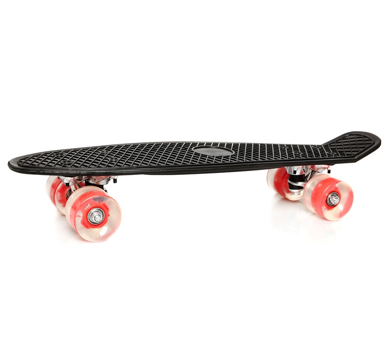 Aga Skateboard RETRO 7414 Black